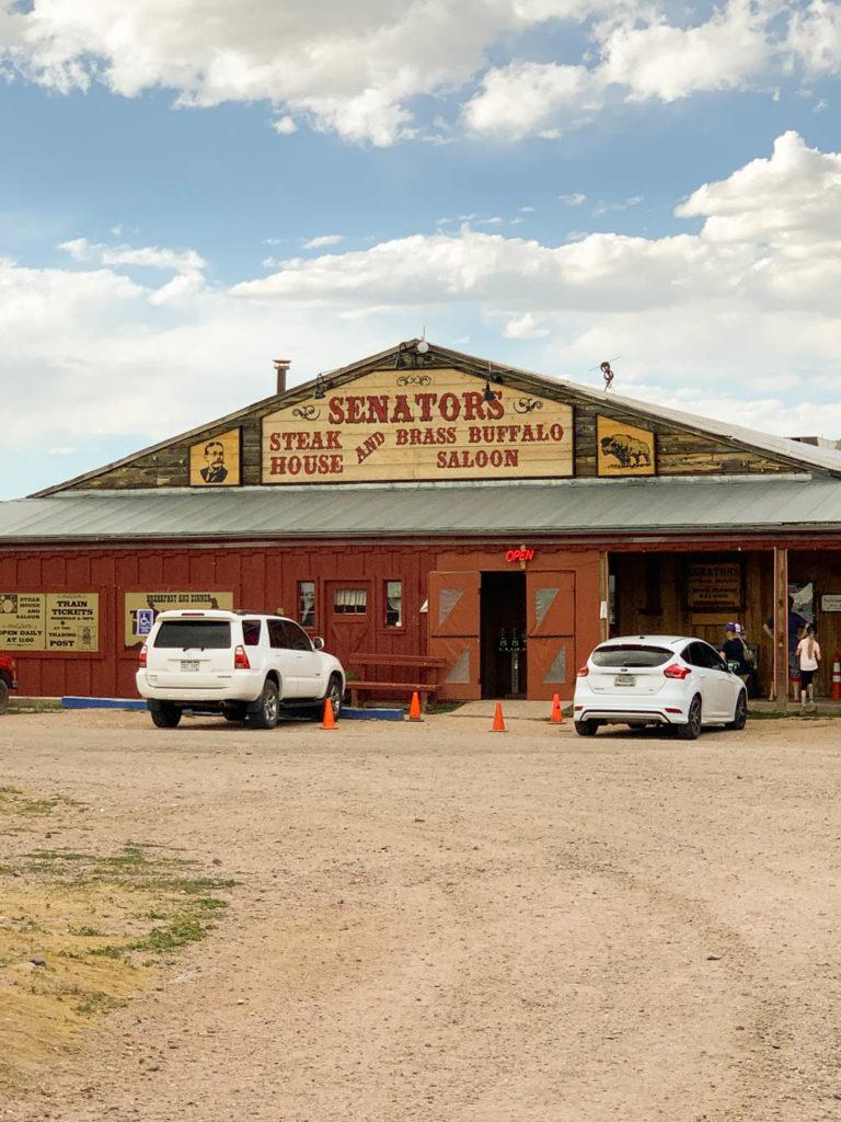 Where to Eat in Cheyenne Wyoming Senator's Steakhouse