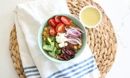Mediterranean Bowls Recipe (Gluten Free)