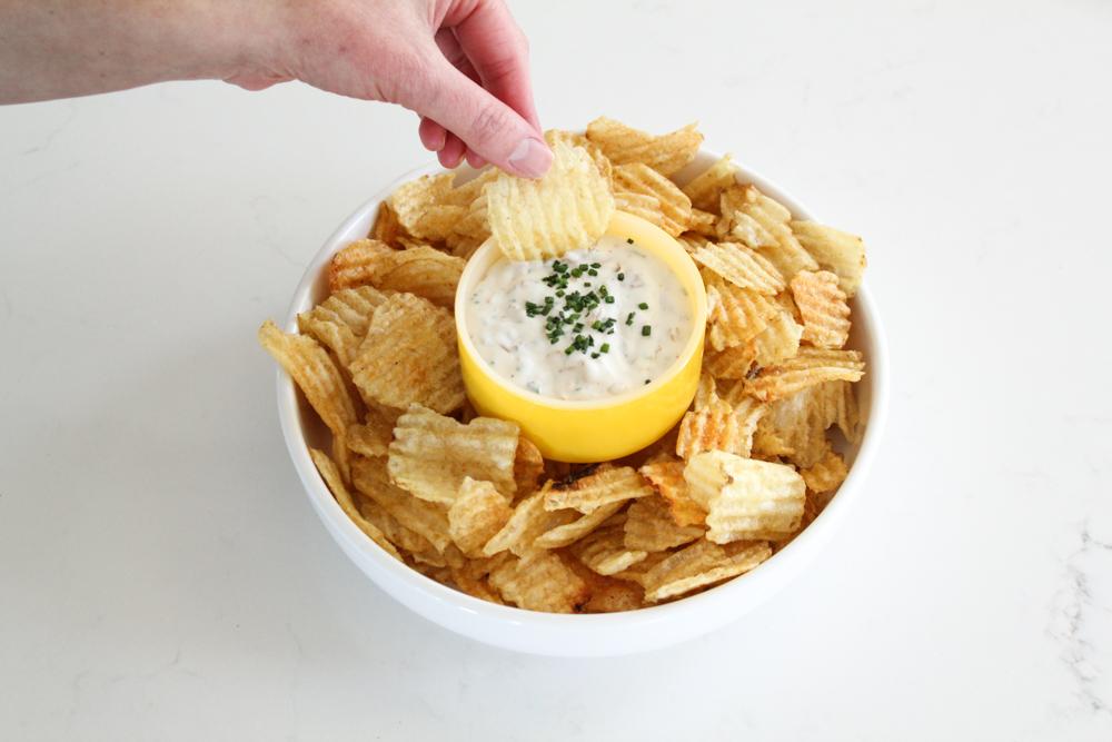 French Onion Dip Recipe (Paleo + Whole30 + Dairy Free)-1