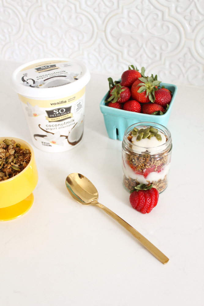 Vegan Protein Granola Parfaits