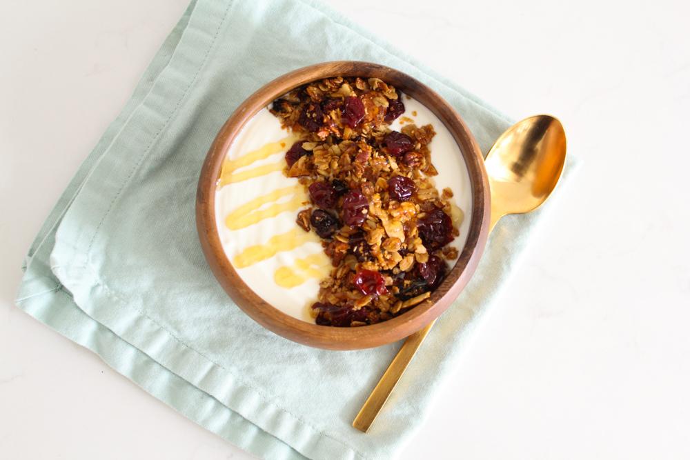 Homemade Gluten Free Granola Recipe