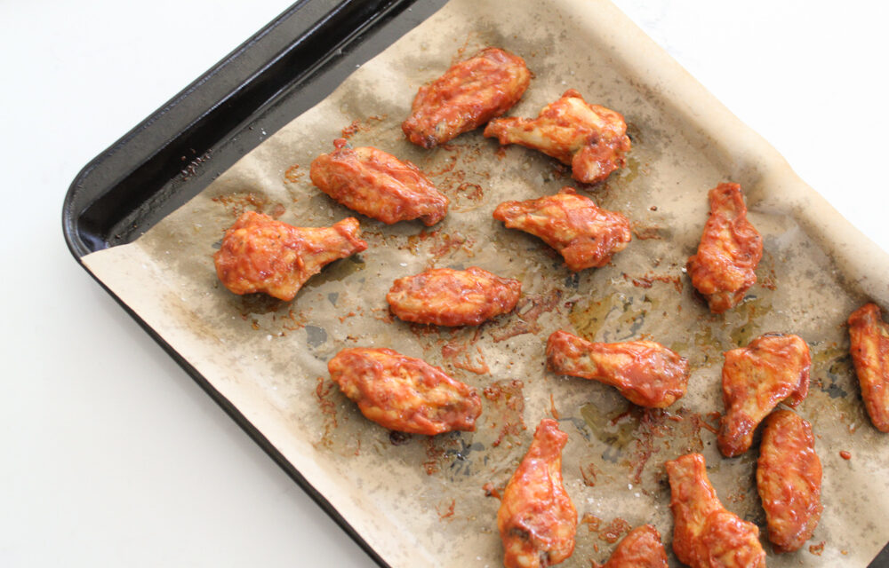 Oven Baked BBQ Chicken Wings (Paleo, Whole30, Keto, Low Carb)