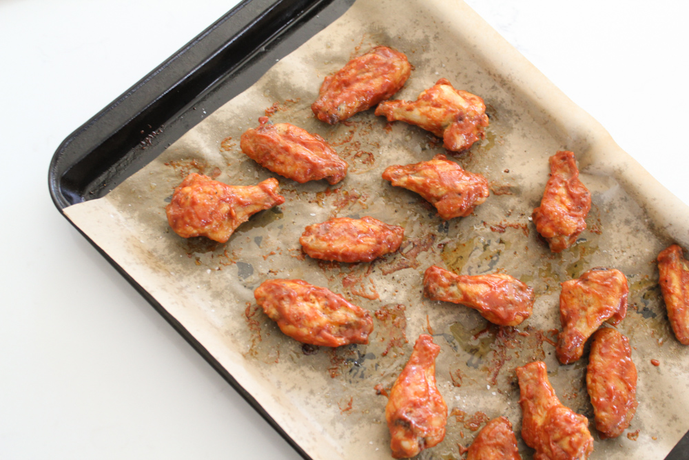 Oven Baked BBQ Chicken Wings