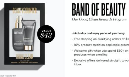 Beautycounter Band of Beauty Perks