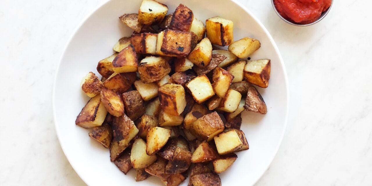 Perfect Crispy Roasted Potatoes Recipe (Whole30 + Paleo)