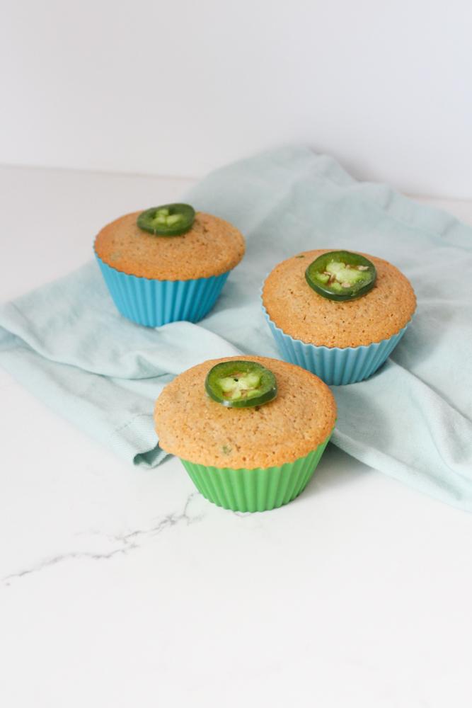 Gluten Free Jalapeño Cornbread Muffins Recipe