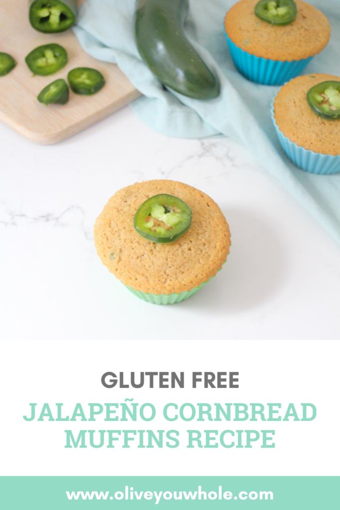Gluten Free Jalapeño Cornbread Muffins Recipe Pinterest