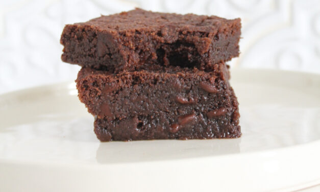 Keto Brownies Recipe (low carb + dairy free)