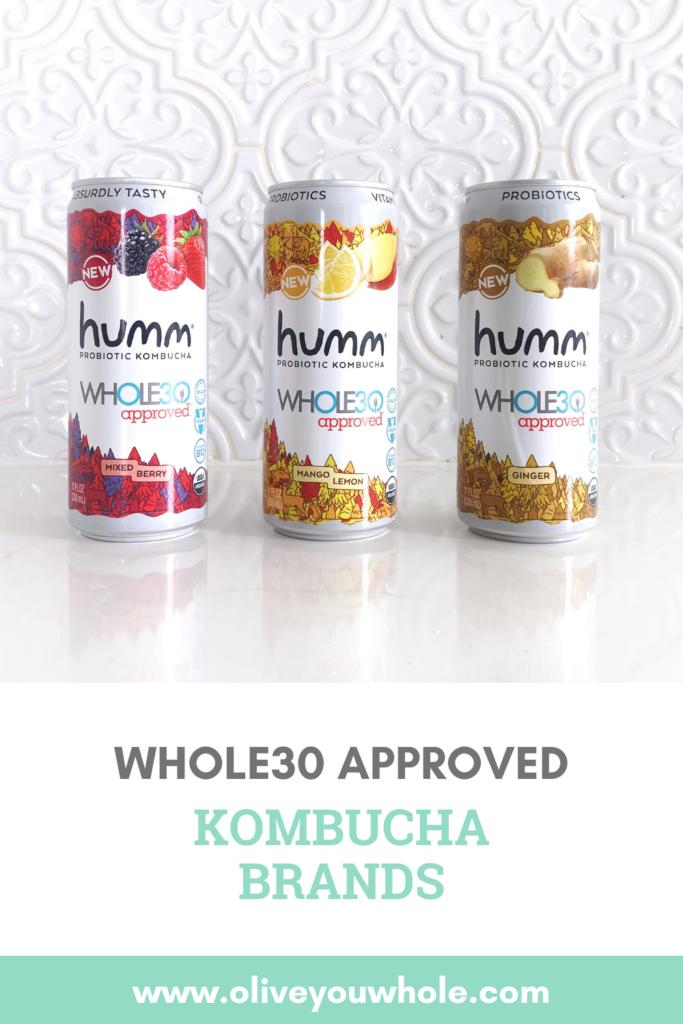 Whole30 Approved Kombucha Brands Pinterest