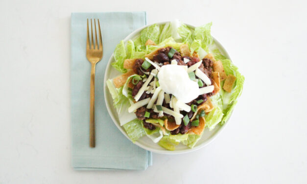 Corn Chip Chili Pie Salad