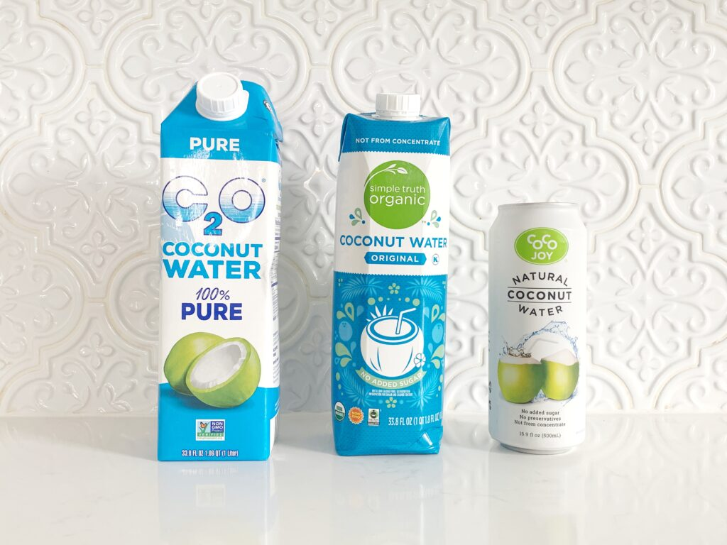 Whole30 Compliant Coconut Water