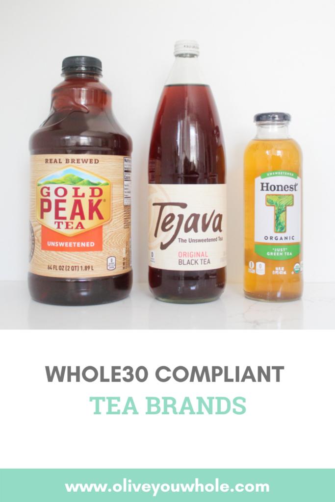 Whole30 Compliant Tea Brands