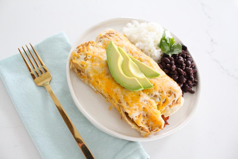 Green Chile Chicken Enchiladas Recipe