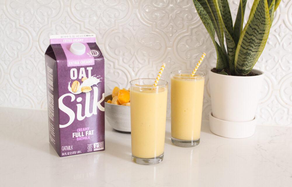 Tropical Mango Smoothie Recipe (Dairy Free)