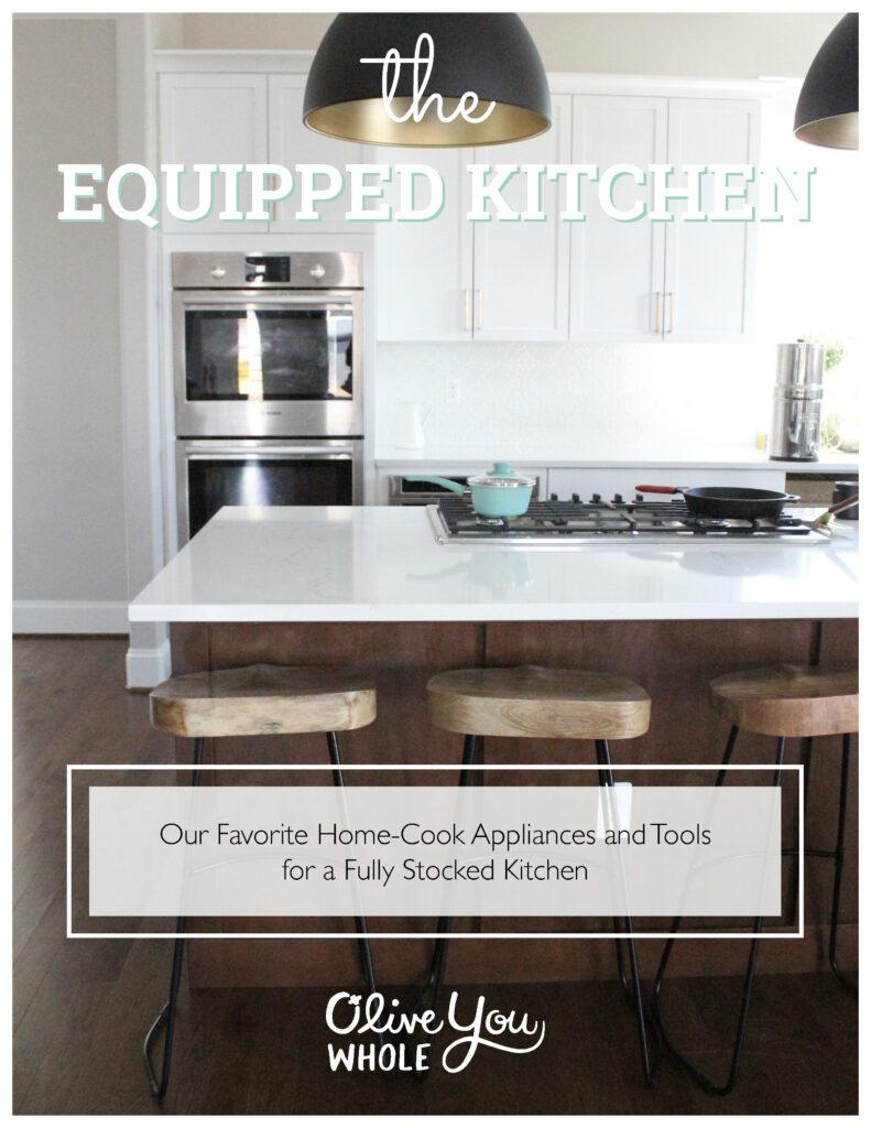 The Equipped Kitchen Prep Cook Freeze Cookbook Bonus