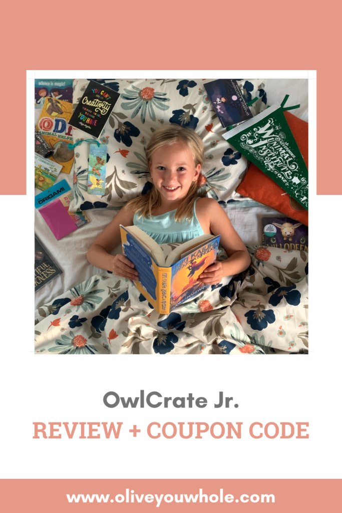 OwlCrate Jr. Review + Coupon Code